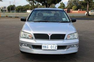 2002 Mitsubishi Lancer CG VR-X Silver 5 Speed Manual Sedan.