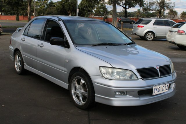 Used Mitsubishi Lancer CG VR-X West Footscray, 2002 Mitsubishi Lancer CG VR-X Silver 5 Speed Manual Sedan