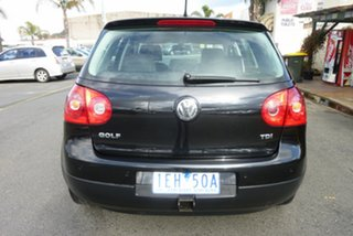2006 Volkswagen Golf V MY07 Trendline DSG Black 6 Speed Sports Automatic Dual Clutch Hatchback