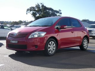 2010 Toyota Corolla ZRE152R MY10 Ascent Red 6 Speed Manual Hatchback.