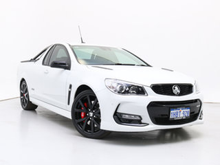 2017 Holden Ute VF II SS-V Redline White 6 Speed Automatic Utility.