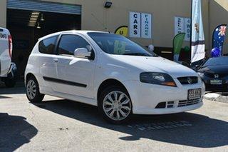 2007 Holden Barina TK MY07 White 4 Speed Automatic Hatchback