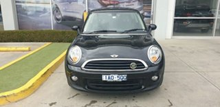 2014 Mini Hatch F56 One Black 6 Speed Automatic Hatchback.