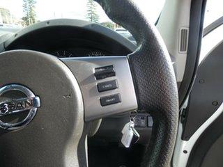 2012 Nissan Navara D40 S6 MY12 ST White 5 Speed Sports Automatic Utility