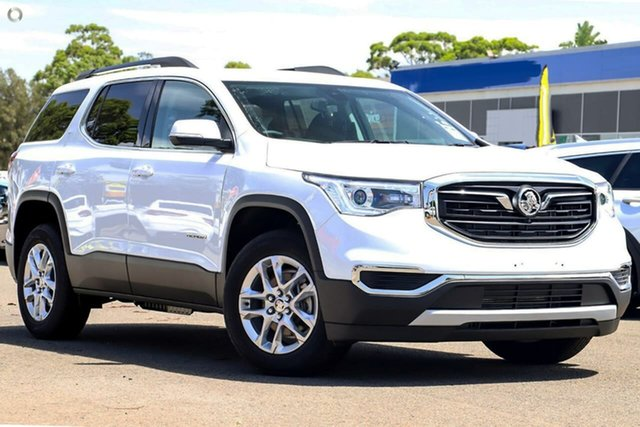 New Holden Acadia AC MY19 LT 2WD, 2019 Holden Acadia AC MY19 LT 2WD White 9 Speed Sports Automatic Wagon