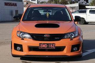 2012 Subaru Impreza G3 MY13 WRX Club Spec AWD Orange 5 Speed Manual Sedan