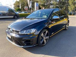 2016 Volkswagen Golf VII MY16 R DSG 4MOTION Black 6 Speed Sports Automatic Dual Clutch Hatchback.