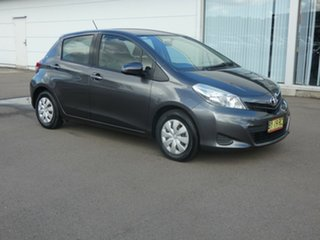 2013 Toyota Yaris NCP130R YR Graphite 4 Speed Automatic Hatchback