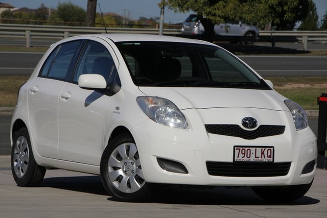 Used Toyota Yaris NCP91R YRS, 2008 Toyota Yaris NCP91R YRS White 4 Speed Automatic Hatchback