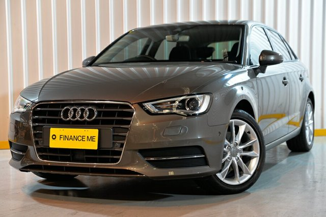 Used Audi A3 8V MY16 Attraction Sportback S Tronic, 2016 Audi A3 8V MY16 Attraction Sportback S Tronic Grey 7 Speed Sports Automatic Dual Clutch