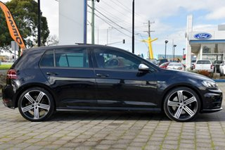 2017 Volkswagen Golf VII MY17 R 4MOTION Black 6 Speed Manual Hatchback.