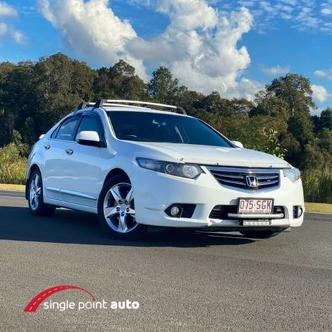 Used Honda Accord Euro CU MY13 Chevallum, 2012 Honda Accord Euro CU MY13 White 5 Speed Automatic Sedan