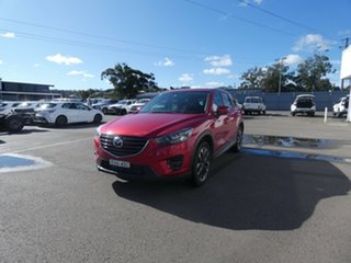 2016 Mazda CX-5 KE1022 Grand Touring SKYACTIV-Drive i-ACTIV AWD Red 6 Speed Sports Automatic Wagon.