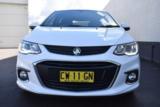 2016 Holden Barina TM MY17 LS White 6 Speed Automatic Hatchback.