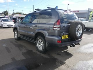 2008 Toyota Landcruiser Prado GRJ120R GXL Grey 5 Speed Automatic Wagon