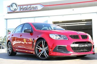 2015 Holden Special Vehicles ClubSport Gen-F2 MY16 R8 LSA Red Hot 6 Speed Sports Automatic Sedan.