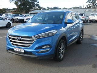2016 Hyundai Tucson TL Active X 2WD Blue 6 Speed Sports Automatic Wagon.