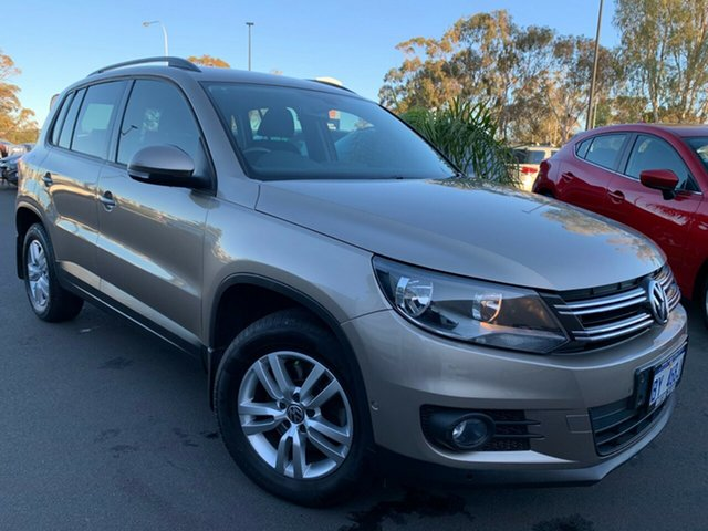 Used Volkswagen Tiguan 5N MY12.5 132TSI Tiptronic 4MOTION Pacific, 2012 Volkswagen Tiguan 5N MY12.5 132TSI Tiptronic 4MOTION Pacific Gold 6 Speed Sports Automatic