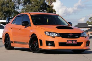 2012 Subaru Impreza G3 MY13 WRX Club Spec AWD Orange 5 Speed Manual Sedan.