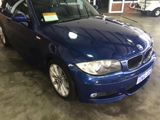 2009 BMW 125i E88 MY09 Blue 6 Speed Automatic Convertible.