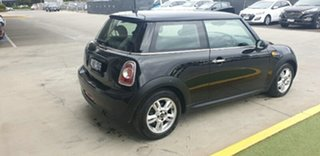 2014 Mini Hatch F56 One Black 6 Speed Automatic Hatchback