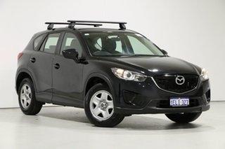 2014 Mazda CX-5 MY13 Upgrade Maxx (4x2) Black 6 Speed Automatic Wagon.