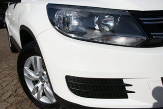 2012 Volkswagen Tiguan 5NC MY12 118 TSI (4x2) White 6 Speed Manual Wagon.