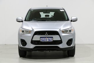 2013 Mitsubishi ASX XB MY13 (2WD) Silver 5 Speed Manual Wagon