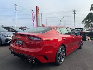 2020 Kia Stinger CK MY20 GT Fastback Hichroma Red 8 Speed Sports Automatic Sedan