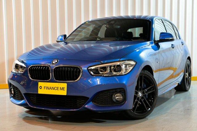Used BMW 1 Series F20 LCI-2 125i M Sport, 2018 BMW 1 Series F20 LCI-2 125i M Sport Blue 8 Speed Sports Automatic Hatchback
