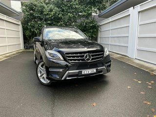 2014 Mercedes-Benz M-Class W166 ML500 7G-Tronic + Black 7 Speed Sports Automatic Wagon.