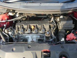 2012 Honda Civic 9th Gen Ser II VTi Red 5 Speed Sports Automatic Sedan