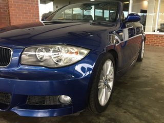 2009 BMW 125i E88 MY09 Blue 6 Speed Automatic Convertible