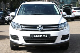 2012 Volkswagen Tiguan 5NC MY12 118 TSI (4x2) White 6 Speed Manual Wagon