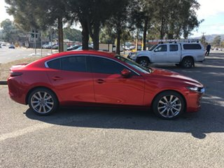 2019 Mazda 3 BP2SLA G25 SKYACTIV-Drive Evolve Soul Red 6 Speed Sports Automatic Sedan.