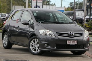 2011 Toyota Corolla ZRE152R MY11 Ascent Sport Grey 6 Speed Manual Hatchback.