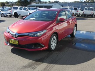 2016 Toyota Corolla ZRE182R Ascent S-CVT Red 7 Speed Constant Variable Hatchback.