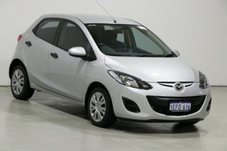 2010 Mazda 2 DE Neo Silver 5 Speed Manual Hatchback