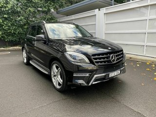2014 Mercedes-Benz M-Class W166 ML500 7G-Tronic + Black 7 Speed Sports Automatic Wagon