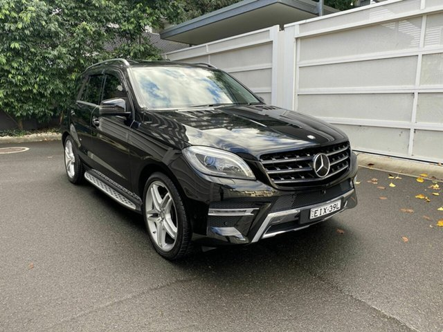 Used Mercedes-Benz M-Class W166 ML500 7G-Tronic +, 2014 Mercedes-Benz M-Class W166 ML500 7G-Tronic + Black 7 Speed Sports Automatic Wagon