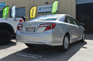 2014 Toyota Camry ASV50R Altise Silver 6 Speed Automatic Sedan.