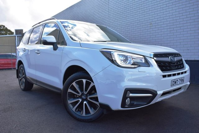 Used Subaru Forester S4 MY18 2.5i-S CVT AWD, 2017 Subaru Forester S4 MY18 2.5i-S CVT AWD White 6 Speed Constant Variable Wagon