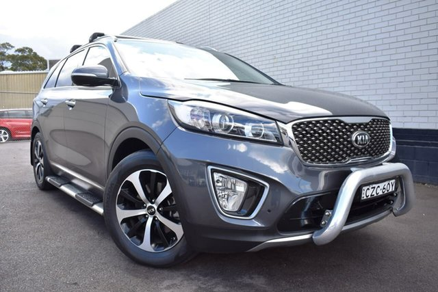 Used Kia Sorento UM MY16 SLi, 2015 Kia Sorento UM MY16 SLi Grey 6 Speed Sports Automatic Wagon