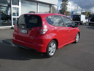 2010 Honda Jazz GE MY10 VTi-S Red 5 Speed Sports Automatic Hatchback