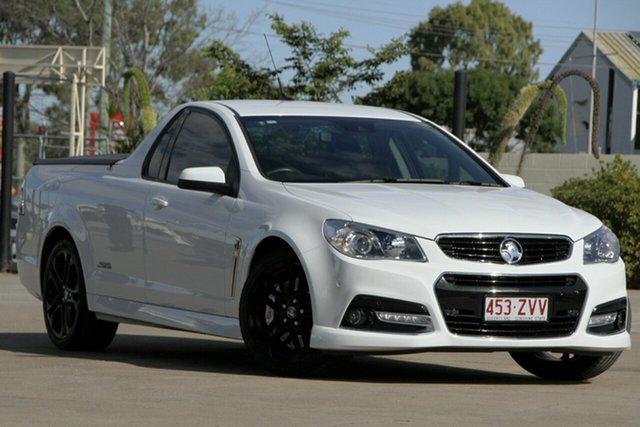 Used Holden Ute VF MY15 SS V Ute Redline, 2014 Holden Ute VF MY15 SS V Ute Redline White 6 Speed Manual Utility