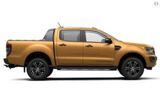 2020 Ford Ranger PX MkIII 2020.25MY Wildtrak Pick-up Double Cab Orange 10 Speed Sports Automatic.