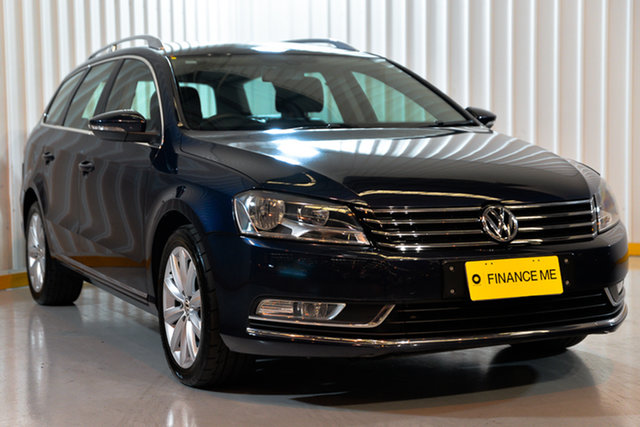 Used Volkswagen Passat Type 3C MY12.5 118TSI DSG, 2012 Volkswagen Passat Type 3C MY12.5 118TSI DSG Blue 7 Speed Sports Automatic Dual Clutch Wagon