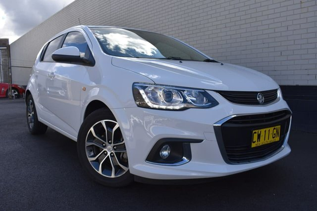 Used Holden Barina TM MY17 LS, 2016 Holden Barina TM MY17 LS White 6 Speed Automatic Hatchback