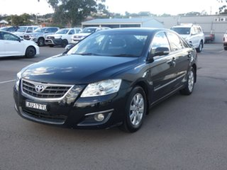 2007 Toyota Aurion GSV40R Touring Black 6 Speed Sports Automatic Sedan.