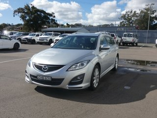 2012 Mazda 6 GJ1031 Touring SKYACTIV-Drive Silver 6 Speed Sports Automatic Wagon.